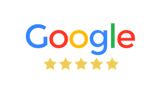 5-star rating on Google